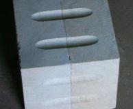 Куб с каннелюрами незавершенный элемент