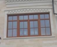 Обрамление окна комбинированное