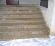 Ступени наружной лестницы из РФ