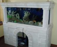Облицовка аквариума из ИБ