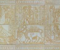 египетское панно из 6 элем