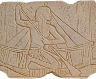 египтянин на лодке