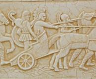 римские колесницы