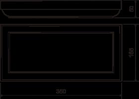 Руст №14 (50х165х350) - чертёж