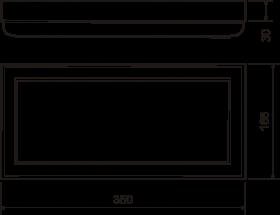 Руст №15 (30х165х350) - чертёж